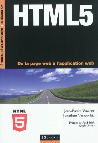 HTML5 - De la page web à l'application web