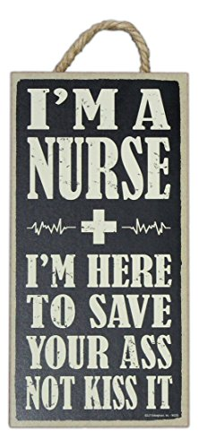SJT-Enterprises-10-x-5-Wooden-Sign-with-Rope-and-Easel-Im-a-Nurse
