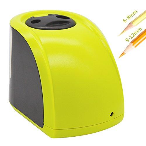 Elektrischer-Bleistiftspitzer-ezkoo-Mechanische-batteriebetrieben-Anspitzer-fr-Standard-Bleistifte-und-Jumbo-6-8-mm-und-9-12-mm-Sicherheit-fr-Kinder-Schule-Zuhause-Bro-Art-Craft-mit-UK-Standard-Ladege