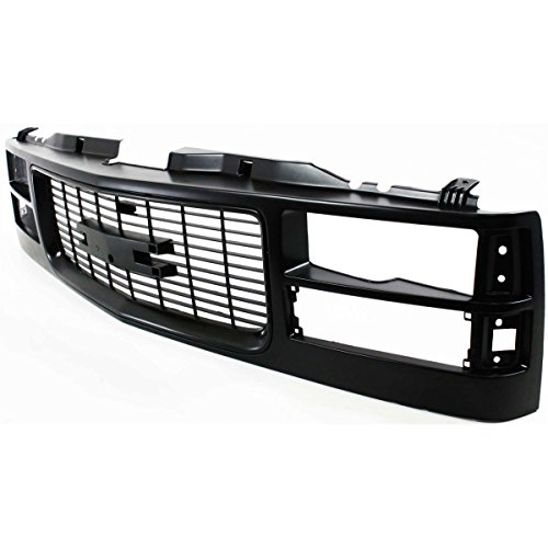 Diften 104-C2123-X01 - New Grille Assembly Black GMC C1500 Suburban 96 95 94 Truck GM1200357 12375422 (1994 Gmc Sierra Grille compare prices)