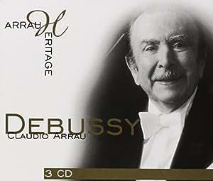 Claudio Arrau plays Debussy (Coffret 3 CD)