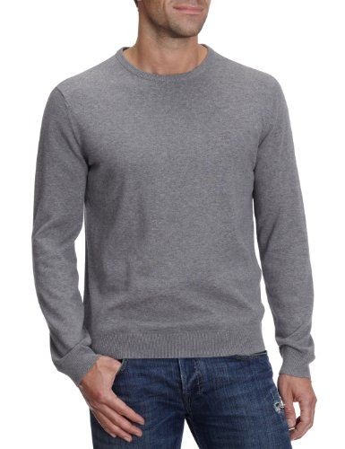 Esprit N32300 Men's Jumper 070 Medium Grey Melange Medium