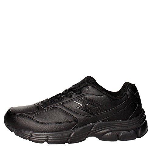 lotto-antares-ix-lth-zapatillas-de-running-para-hombre-negro-gris-blk-tit-gry-44-eu