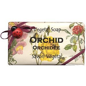 Alchimia Ladybug Natural Orchid Large 10.6 Oz. Moisturizing Soap From Italy