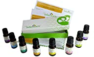 Therapeutic Grade Essential Oil Gift Set – 8 100% Pure Oils – Lemongrass, Tea Tree, Lavender,…