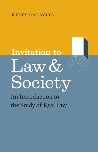 Invitation to Law and Society: An Introduction to the...