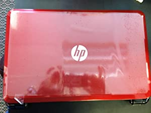 Costco Red HP Laptop
