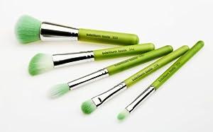 Bdellium Tools Professional Makeup Brush Green Bambu Series Smoky Eyes 5pc. Brush Set