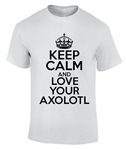 Keep Calm AND LOVE YOUR AXOLOTL - X-Large T-Shirt Herren