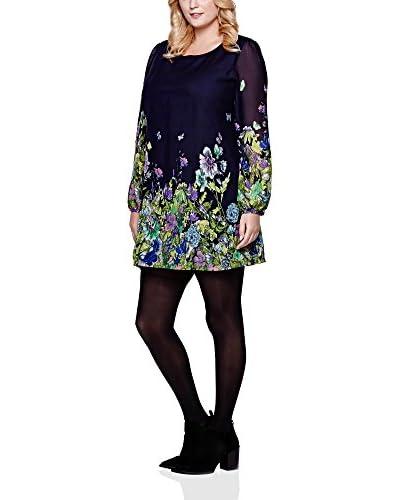 YUMI Curves Vestido Azul Marino ES 54 (UK 26)