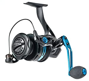 Quantum SL50PTS Smoke PTI Inshore Spinning Reel with 36-Inches per Turn, 25-Pound... by Quantum