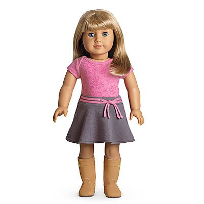 American Girl - My American Girl Doll with Light Skin, Short Blonde Hair with Bangs and Blue Eyes - E32
