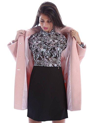 Animagemella 17AI012 Vestito Donna Nero M