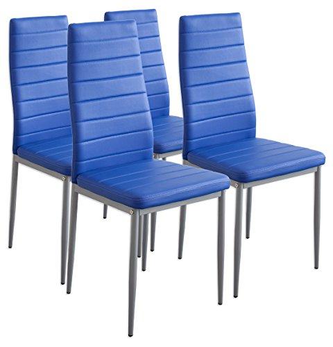 Albatros-2705-Milano-4-x-Esszimmerstuhl-blau