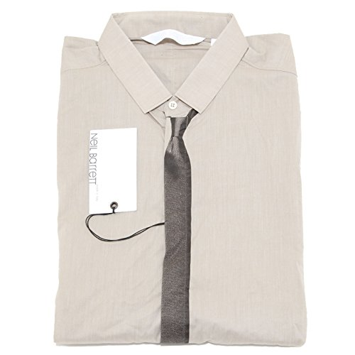 8535 camicia cravatta NEIL BARRETT camicie uomo shirt men [42]