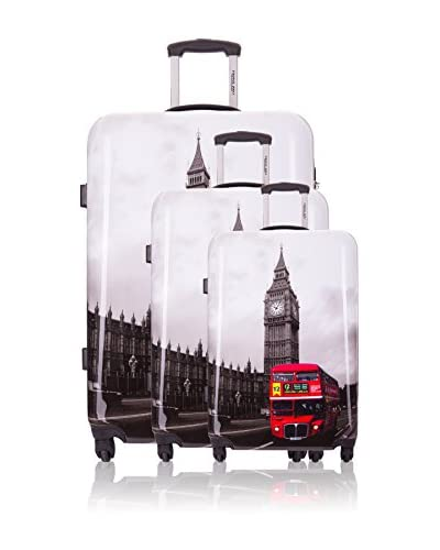 Travel One 3er Set Hartschalen-Trolleys Carona2 70 cm, 60 cm, 50 cm