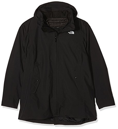 North Face W Brownwood Triclimate Giacca, Nero/Tnf Black, L