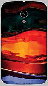 Timpax protective Armor Hard Bumper Back Case Cover. Multicolor printed on 3 Dimensional case with latest & finest graphic design art. Compatible with only Motorola Moto - X-1- 1st Gen. Design No :TDZ-20386