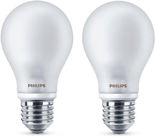 Philips 2 Lampadine LED Classic E27, 5 W Equivalenti a 40 W