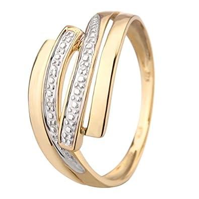 Monte Carlo-Monte Carlo Star Star 50375Yellow Gold and Diamond Ring