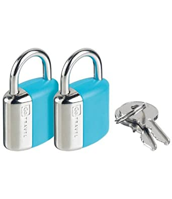 Design Go Glo Key Locks Blue One Size