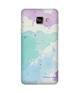 Pastel Texture Printed Back Cover Case For Samsung Galaxy A7 2016 Edition