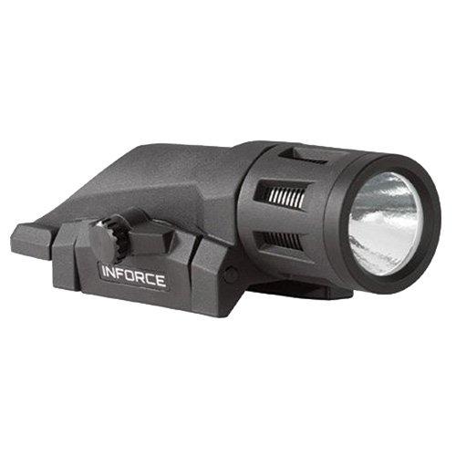InForce W-05-1 400 Lumens Gen 2 Multi-Function Weapon Mounted Light, White/Black