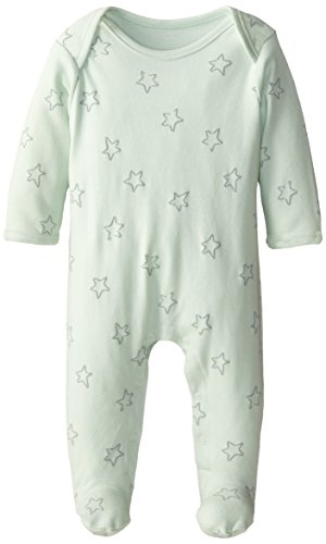 Sterling Baby By Vitamins Baby-Boys Infant Star Printed Footed Coverall, Green, New Born