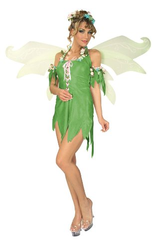 Secret Wishes Women's Enchanted Creature Adult Green Fairy Costume