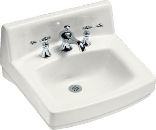 Kohler K 2030 0 Greenwich Wall Mount Bathroom Sink White Hardware Plumbing Plumbing Fixtures