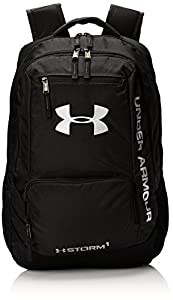 Under Armour Hustle II Backpack, Black, One Size