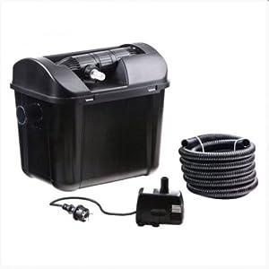 Smartline Aussenfilter, UVC 5W + Pumpe  GartenRezension