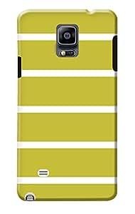 Samsung Galaxy Note 4 Hard Cover Kanvas Cases Premium Quality Designer 3D Printed Lightweight Slim Matte Finish Back Case for Samsung Galaxy Note 4