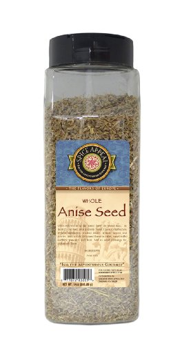 Spice Appeal Anise Seed Whole, 14-Ounce Jar