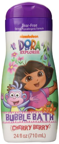 Nickelodeon Dora the Explorer Bubble Bath, Cherry Berry, 24 Ounce (Fisher Price Strawberry compare prices)
