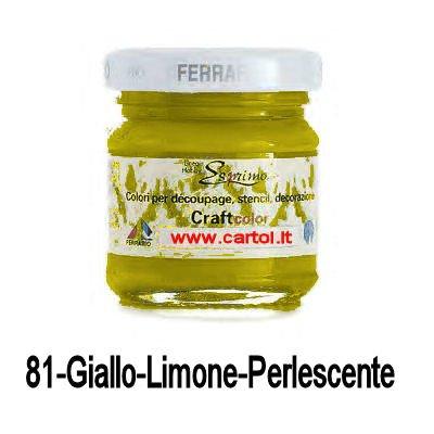 ferrario-craft-color-40-ml-81-giallo-limone-perlescente