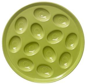 Fiesta 11-Inch Egg Tray, Lemongrass