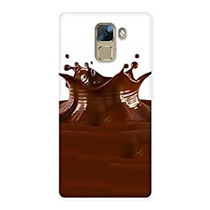 Special Chocolate Splash Brown Back Case Cover for Huawei Honor 7