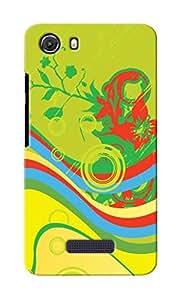KnapCase Abstract Designer 3D Printed Case Cover For Micromax Unite 3 Q372