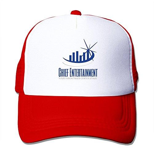 LKSJSADJ Audio Equipment Rental Adjustable Hats Red