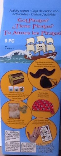 Children's Activity Carton ~ Got Pirates? ~ 5 Fabulous Activities or Accessories - 1