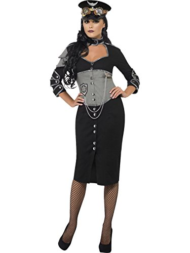 Military Steampunk Adult Womens Costume Size:Large