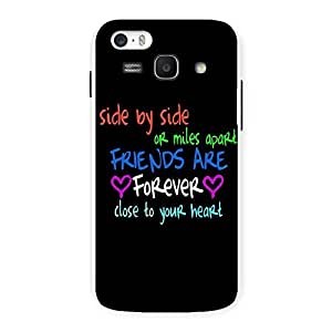 Ajay Enterprises Side By Side Back Case Cover for Galaxy Ace 3