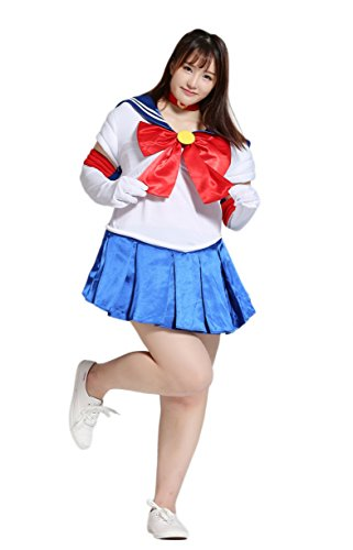 BS Japan Anime Uniforms [Plus size Sailor Moon Costumes] 1X-5X (14-32)