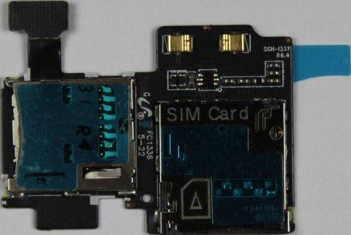 MicroSD SIM Card Reader for ATT Samsung Galaxy S4 SGH-i337 Holder Slot Tray by Samsung [並行輸入品]