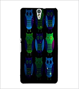 PrintDhaba Owls D-4869 Back Case Cover for SONY XPERIA C5 ULTRA (Multi-Coloured)