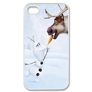 Only-00665 Coque en plastique pour iPhone 4 / 4S Motif La reine des neiges Olaf: Amazon.fr: High