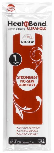 "Lowest Prices! Thermoweb Heat'n Bond Ultra Hold Iron-On Adhesive-17""X36"""