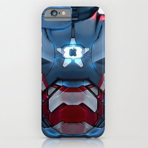 iPhone6ケース society6 Iron/Patriot body armor. アイアンマン デザイナーズiPhoneケース