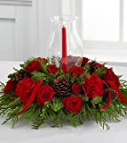 The FTD Winter Wonders Holiday Centerpiece